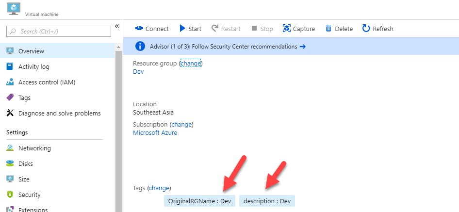 Apply Tags to all of your Azure Resources