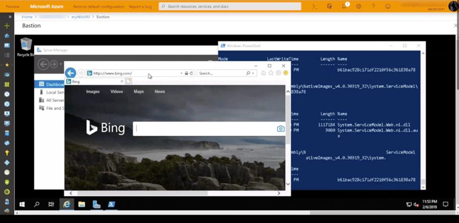Azure Bastion: VM RDP & SSH Access within Azure Portal