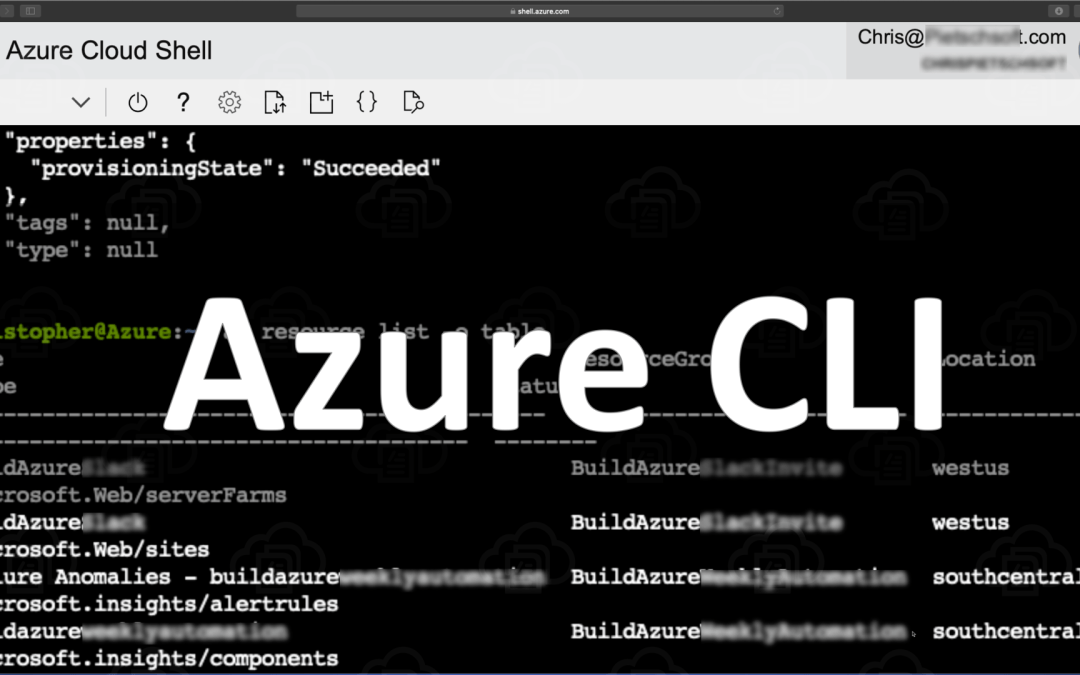 Azure CLI 2.0: Make Bash Output More Readable