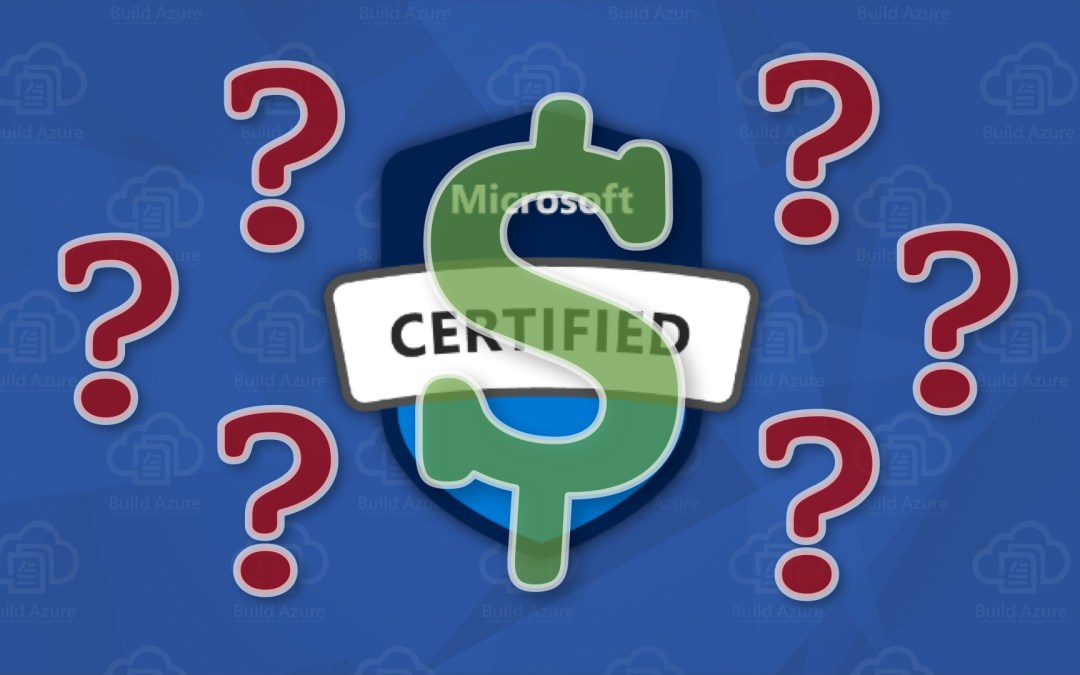How much does Microsoft Certification cost?