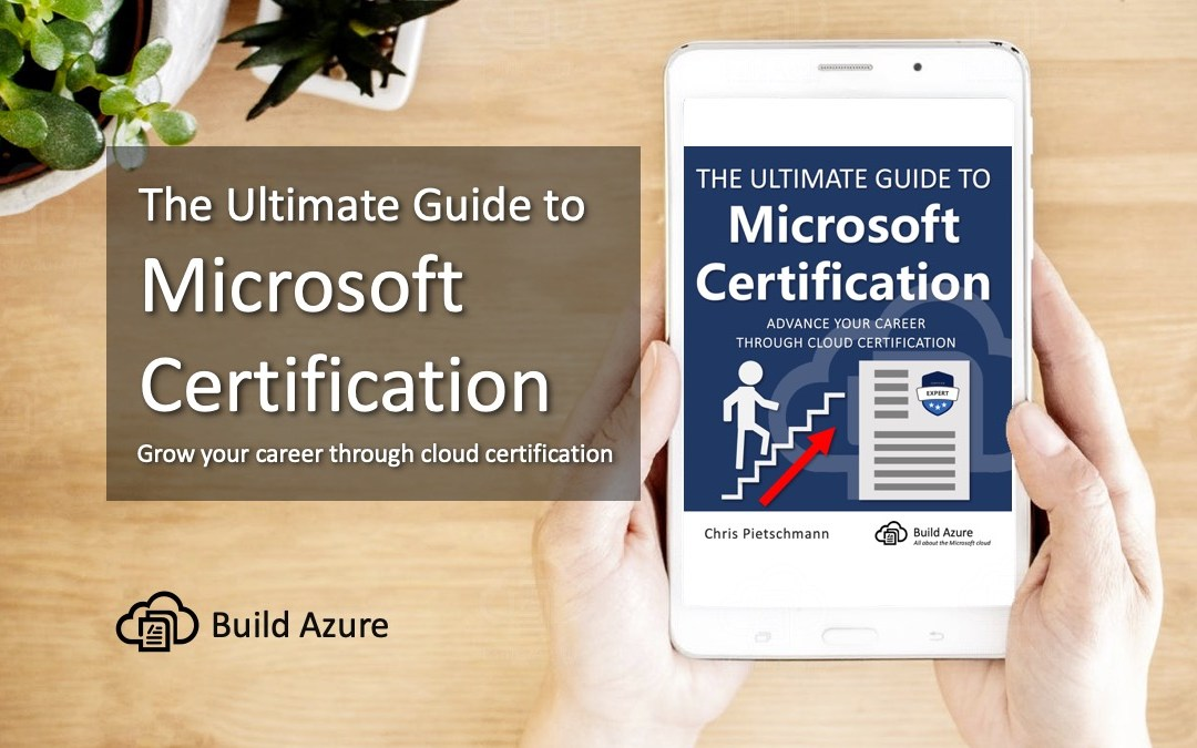 Book Launch: Ultimate Guide to Microsoft Certification