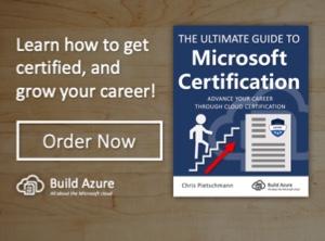 Microsoft Certification List 1