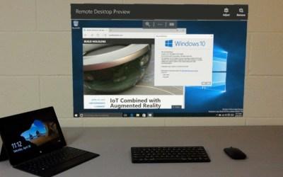 HoloLens Remote Desktop Preview UWP App