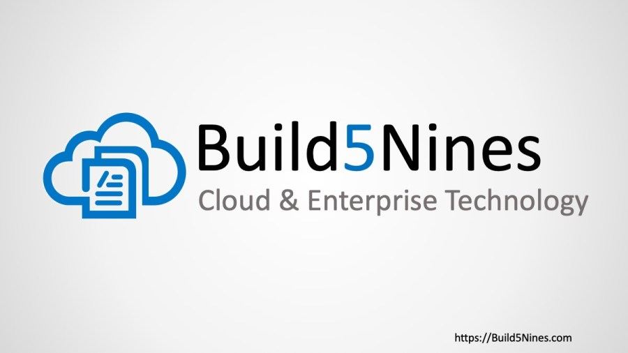 Build5Nines Weekly: October 28, 2019
