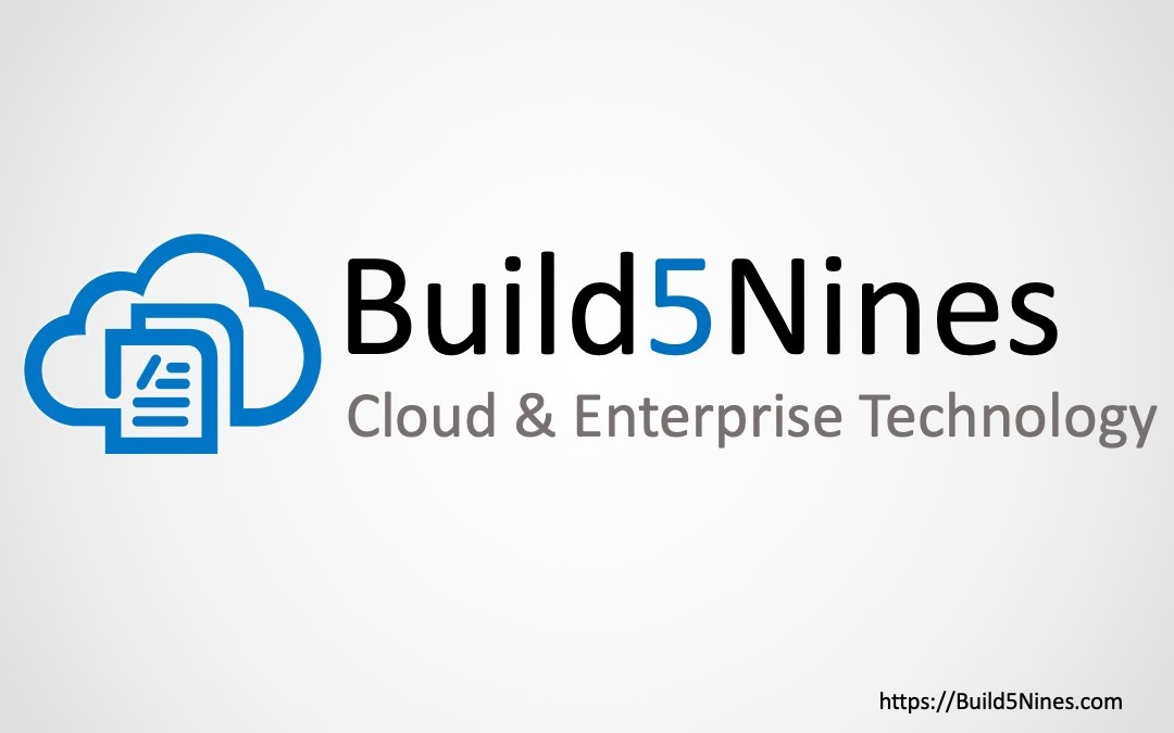 Subscribe to Build5Nines Weekly!