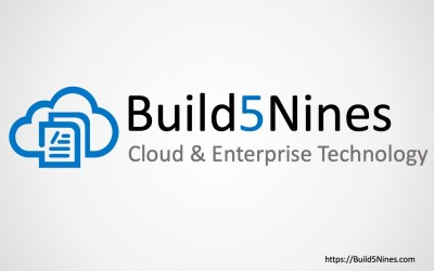 Build5Nines Weekly: March 23, 2020
