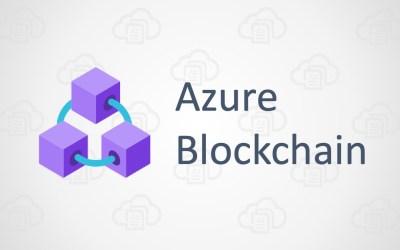 Azure Blockchain Hands-on Lab – Microsoft Cloud Workshop