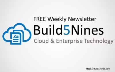 Latest Cloud News: Apple on K8s, IoT, Microsoft Pluton and more! (November 20, 2020 – Build5Nines Weekly)
