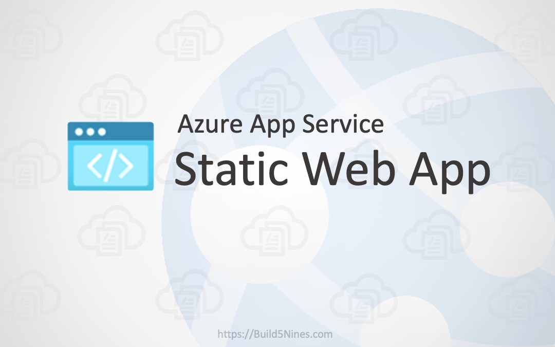 Host Static Web Apps in Azure App Service