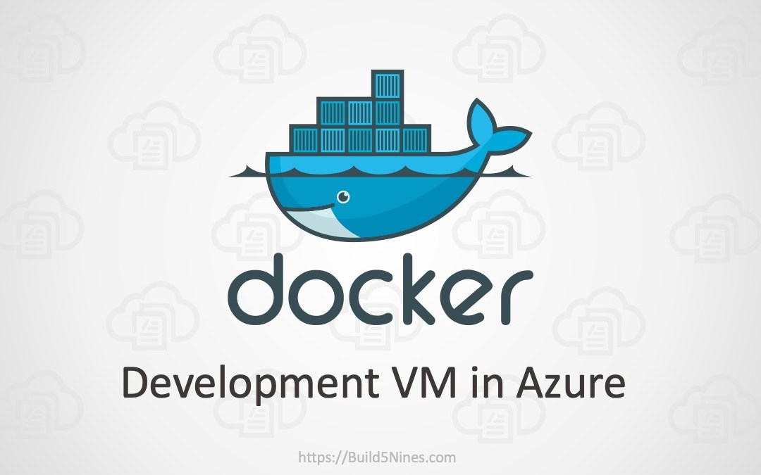 Docker development VM in Azure
