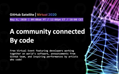 Free GitHub Satellite Virtual 2020 Event May 6