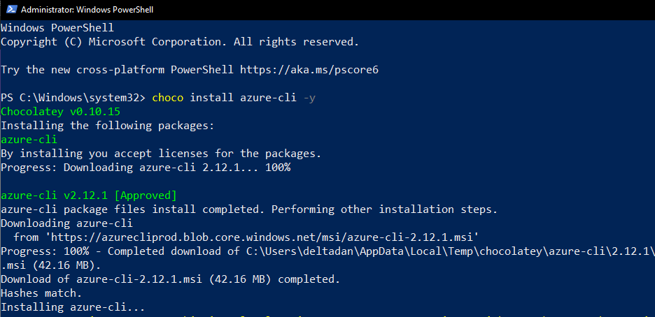 Update Azure CLI from the command-line (az upgrade) 6