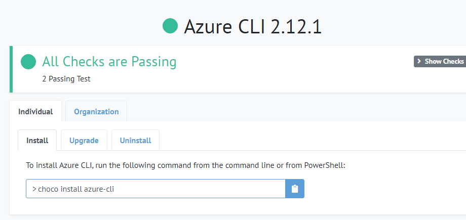 Update Azure CLI from the command-line (az upgrade) 5