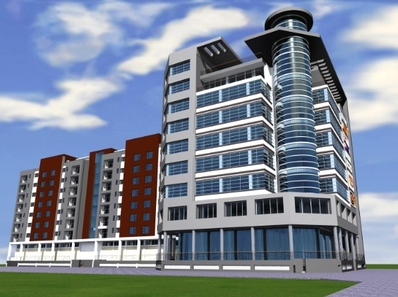 MIXED USE DEVELOPMENT – (Shopping Mall & Apartments)