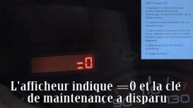 Reset compteur maintenance Tous vehicules160