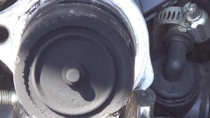 Vanne EGR déposée avant nettoyage au decap four