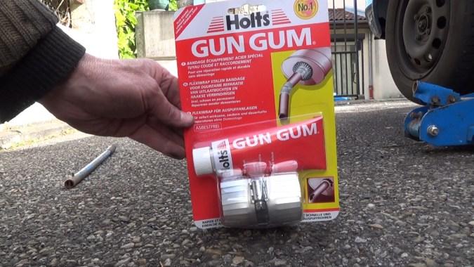 Le bandage échappement Holts Gun Gum
