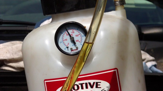 La pression a chuté à 14 psi