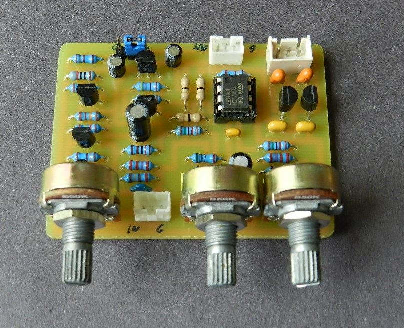 Tone Control Circuit Schematic Together With Audio Tone Control