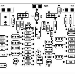 Audio Amplifier Circuit Diagram With Layout 2002 Saturn Sl2 Radio Wiring Power Pcb Somurich