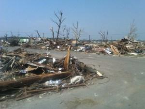 wood-frame wind damage