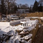 Photos from the ICF installation of the Creekside Home featured on PBS Hometime with Dean Johnson in December 2012.