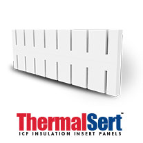 ThermalSert ICF Insulation Insert Panels