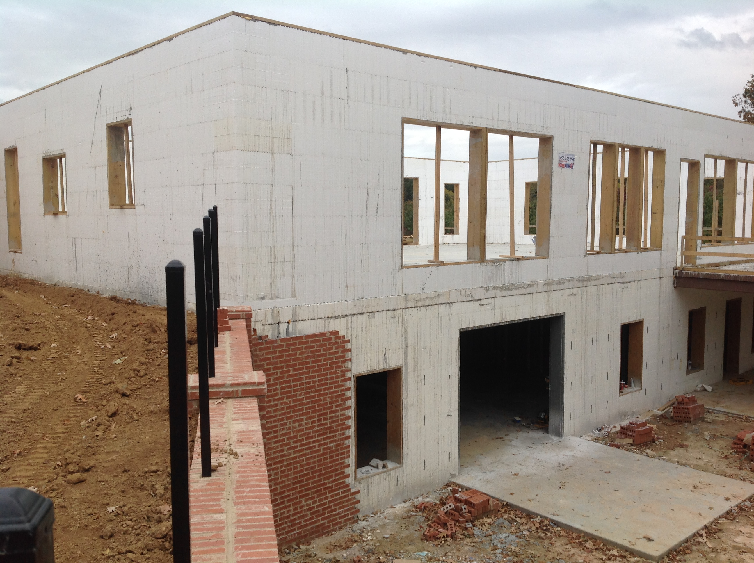 First ICF Home In Yazoo County, Mississippi Built Using