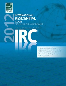 2012 IRC Builidng Codes Cover
