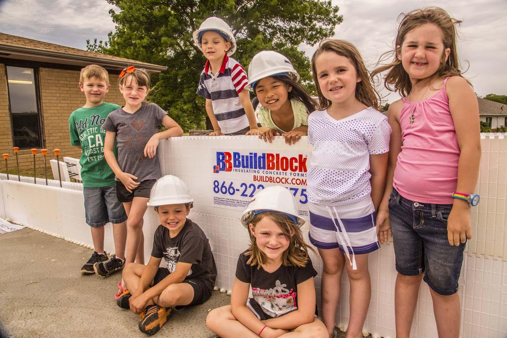 Video: BuildBlock Helps Build 75+ Person Educare Safe Room Part 1