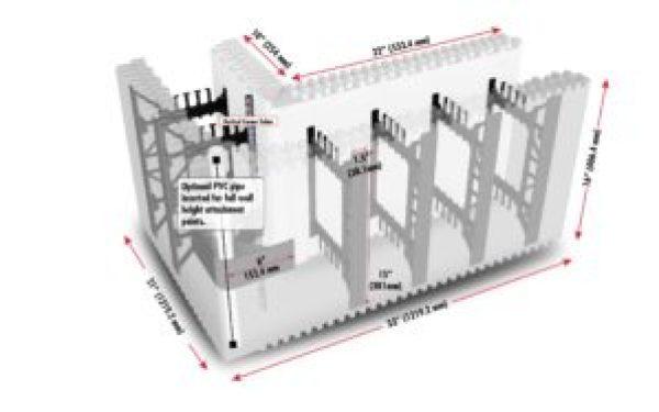 BB690 side annotated cutaway corner block