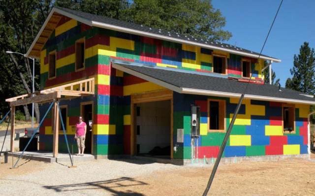 BuildBlock ICF Habitat for Humanity Blitz Build House in Nevada County 2012