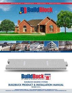 BuildBuck Product and Installation Manual