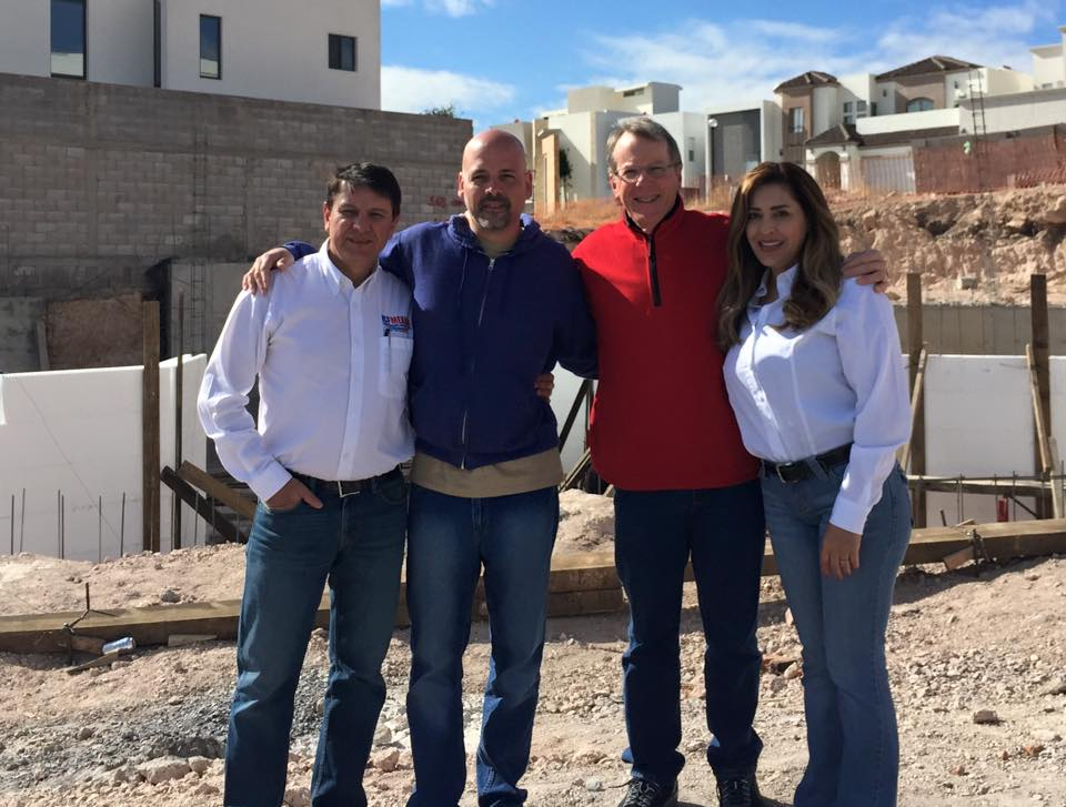 BuildBlock Building Systems visits a BuildBlock project in Chihuahua, Mexico.