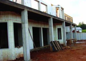 LLoyd Home 2-story ICF Walls