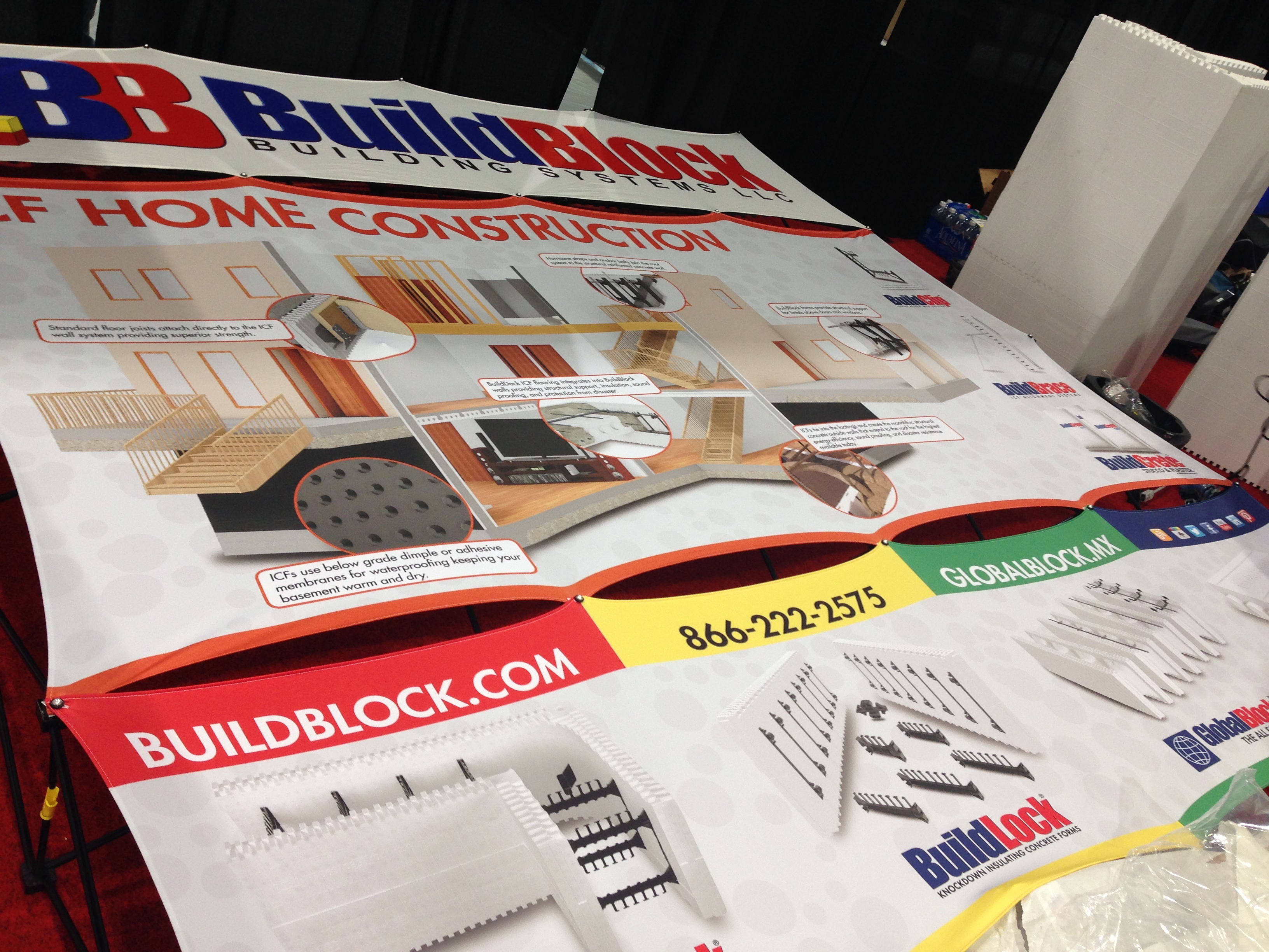 BuildBlock at 2015 World of Concrete