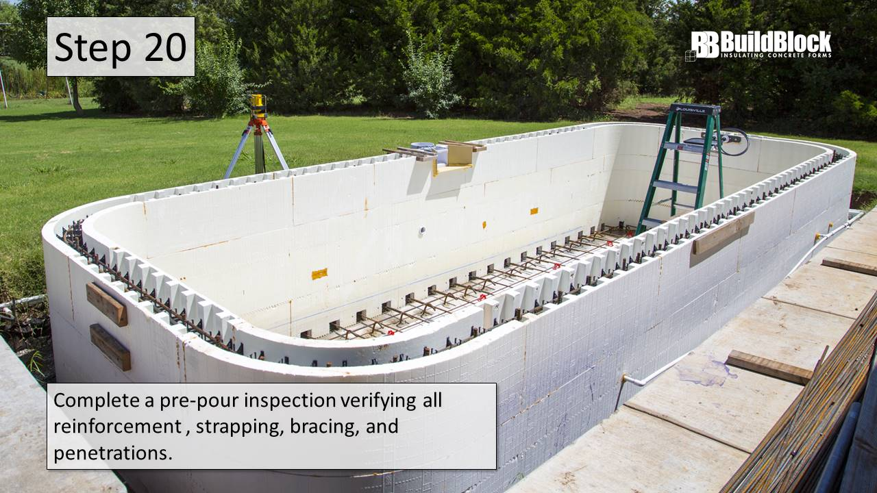 ICF Pool Construction In 25 Steps