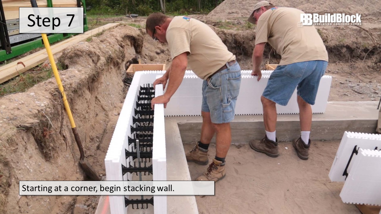 Basic ICF Construction In 22 Steps BuildBlock Insulating