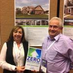 Glenna Wilson and Todd Scott of Charis Homes Receive the DOE Housing Innovation Award