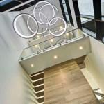 Finished interior-elevator tower