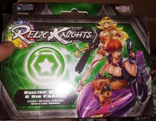 Suicide Queen is a Questing Knight and the leader of the racing gang, Hell's Belles. Rin Farrah is a sniper.