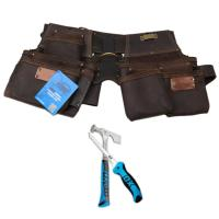 Drywall Pro Series 4 Piece Leather Rig with Free Tools