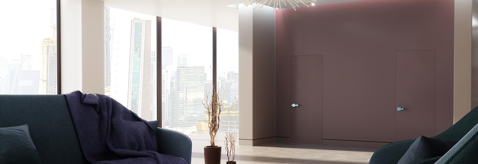 EZ Concept flush frame-less door system