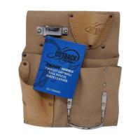 Trade Series 7-Pocket Suede Drywall Tool Pouch made by Ox Tools