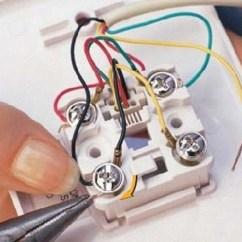 Typical House Wiring Diagram 4 Wire Pc Fan Come Collegare Una Presa Telefonica - Build Daily