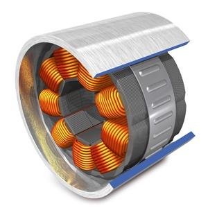 stator dinamo listrik