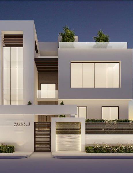 desain rumah dua lantai 2019
