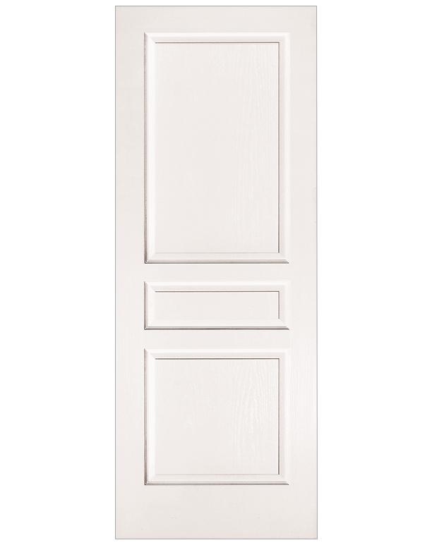 Avalon 3 Panel Interior Door  Builders Surplus
