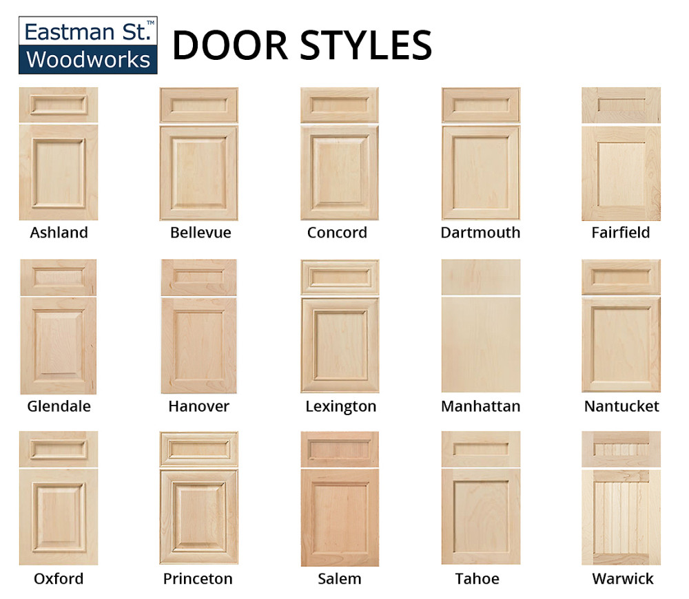 Kitchen Cabinet Door Styles  Builders Surplus