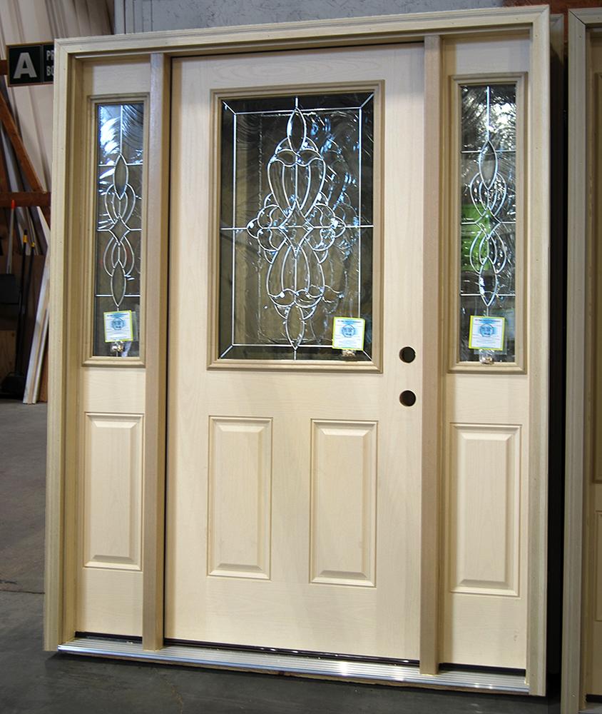 Jamestown Half Glass Door